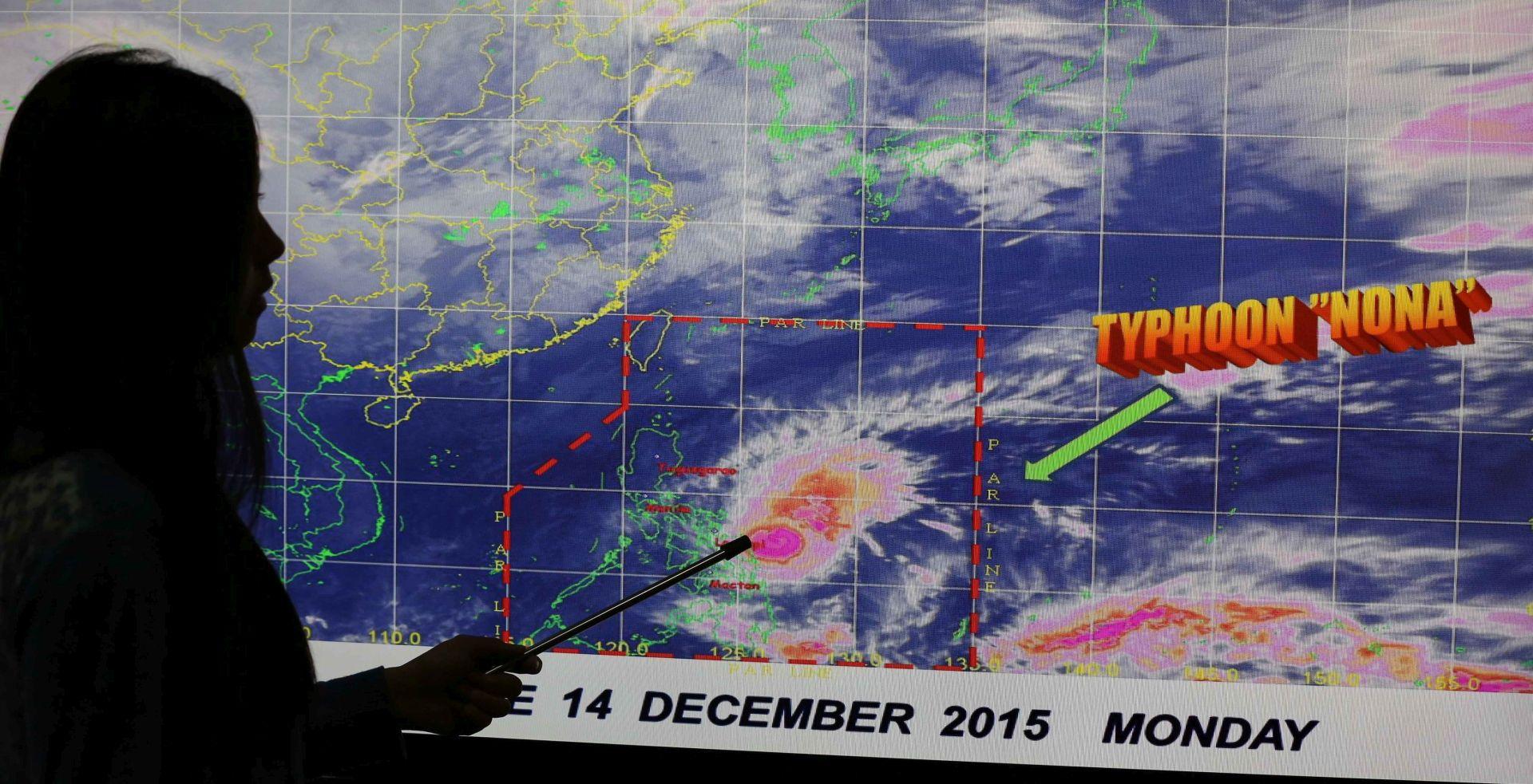 Tajfun prijeti Filipinima, 750.000 ljudi evakuirano