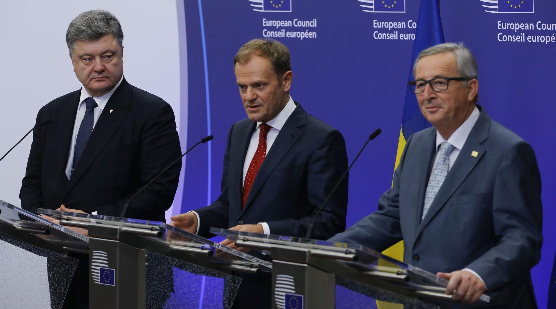 Ukrajina će unatoč Moskvi uvesti svoju zonu slobodne trgovine s EU-om