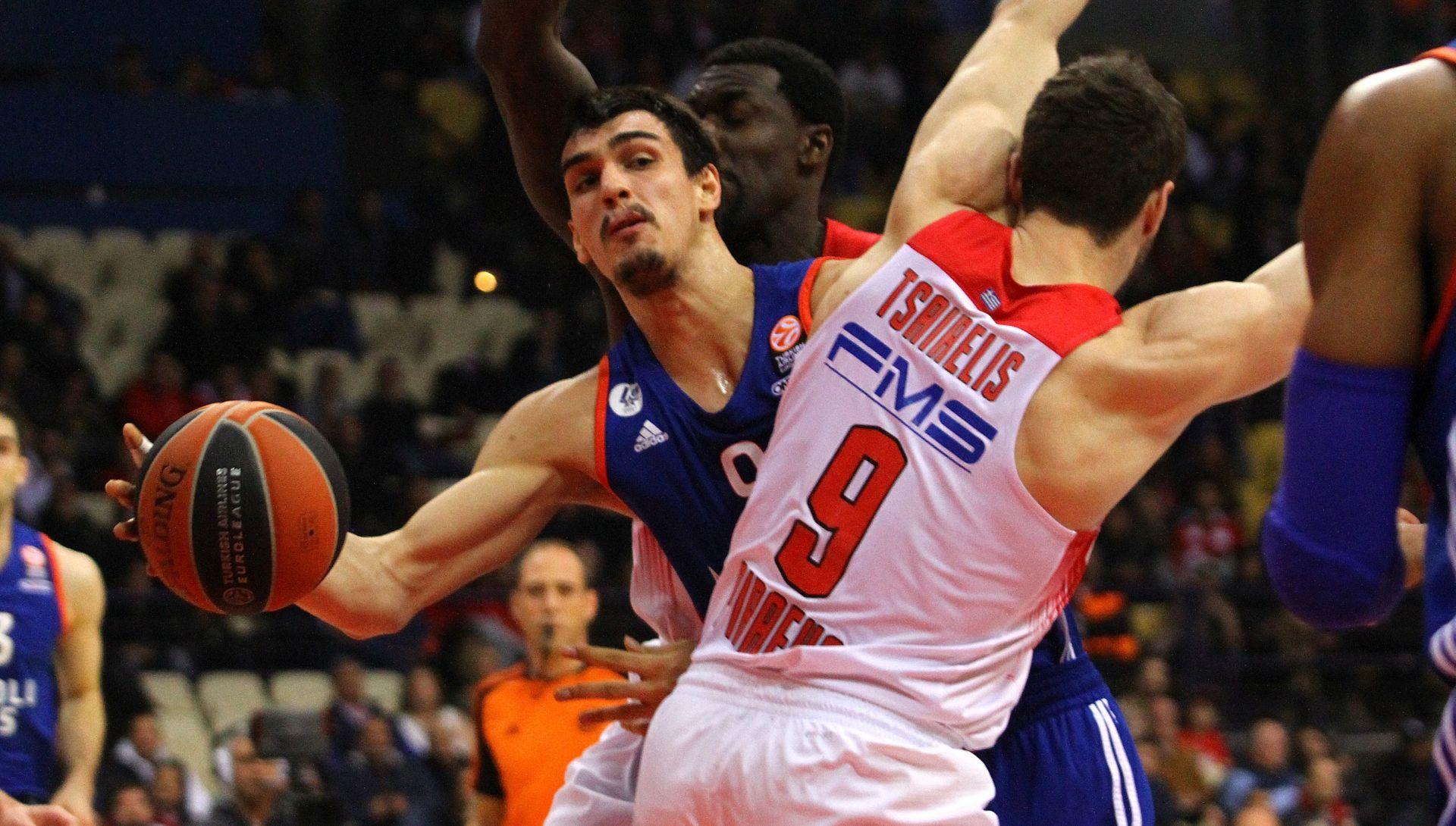 VIDEO: Euroliga: Šarić donio pobjedu Anadolu Efesu protiv Crvene zvezde
