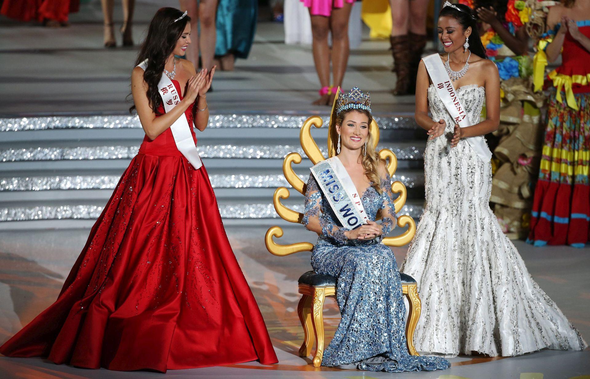 HRVATICA BEZ FINALA Španjolka Miss svijeta 2015.