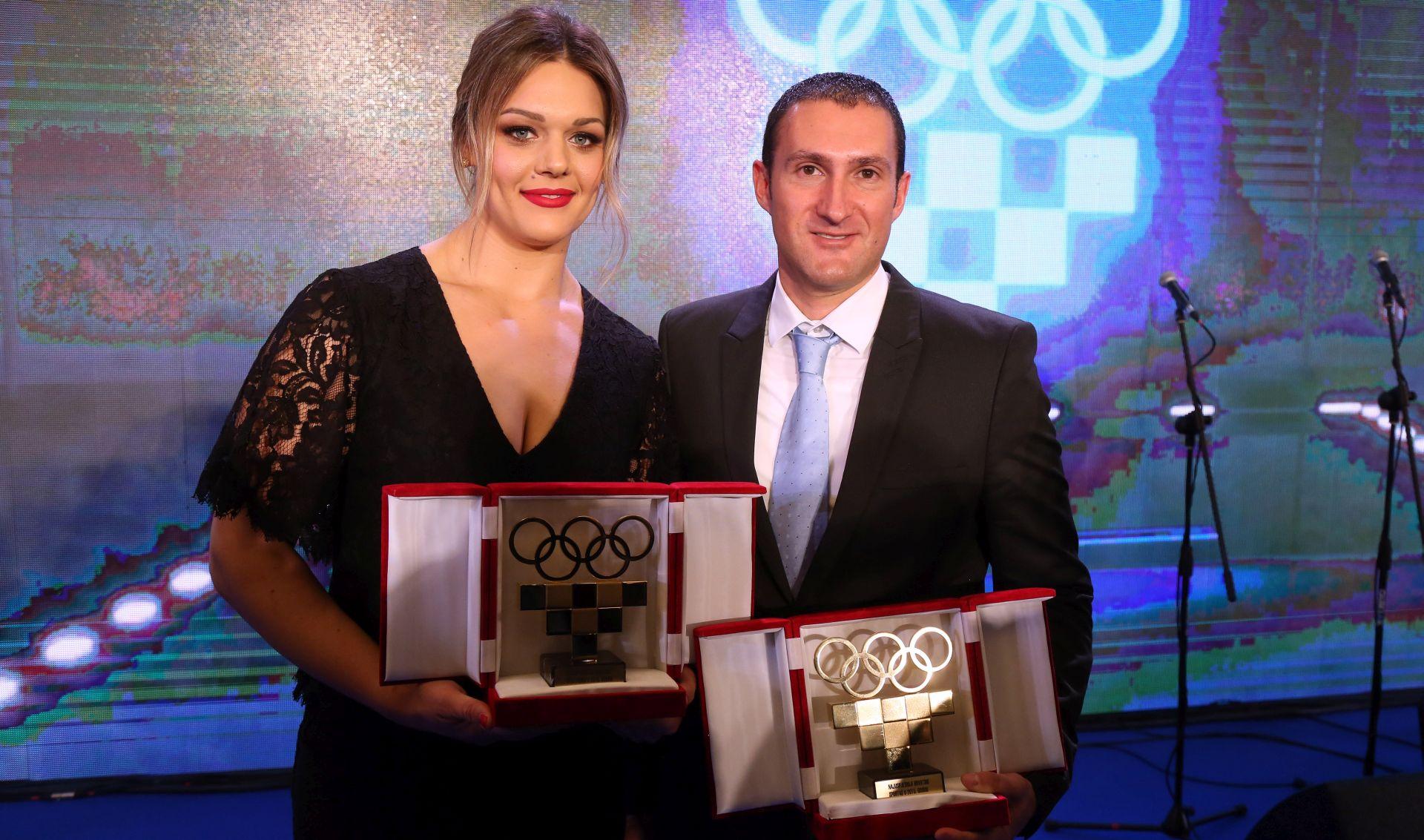 HOO: Perković i Cernogoraz najbolji sportaši Hrvatske