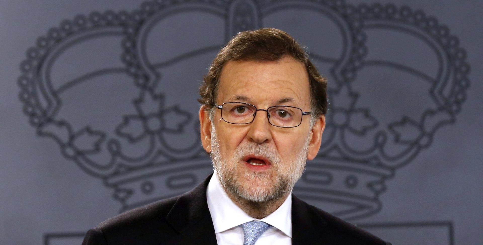 ŠPANJOLSKA Rajoy poziva na savez istomišljenika
