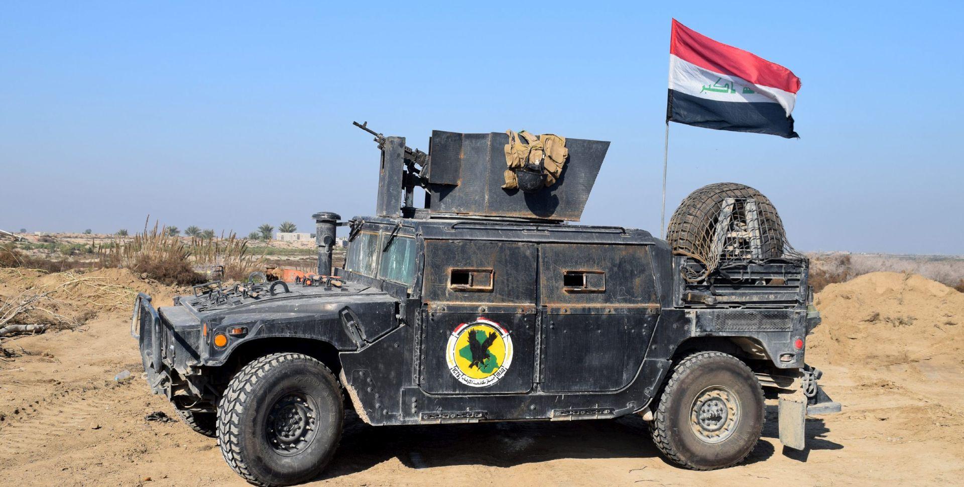 POBJEDA NAD ISLAMSKOM DRŽAVOM: Iračka zastava vijori u središtu Ramadija