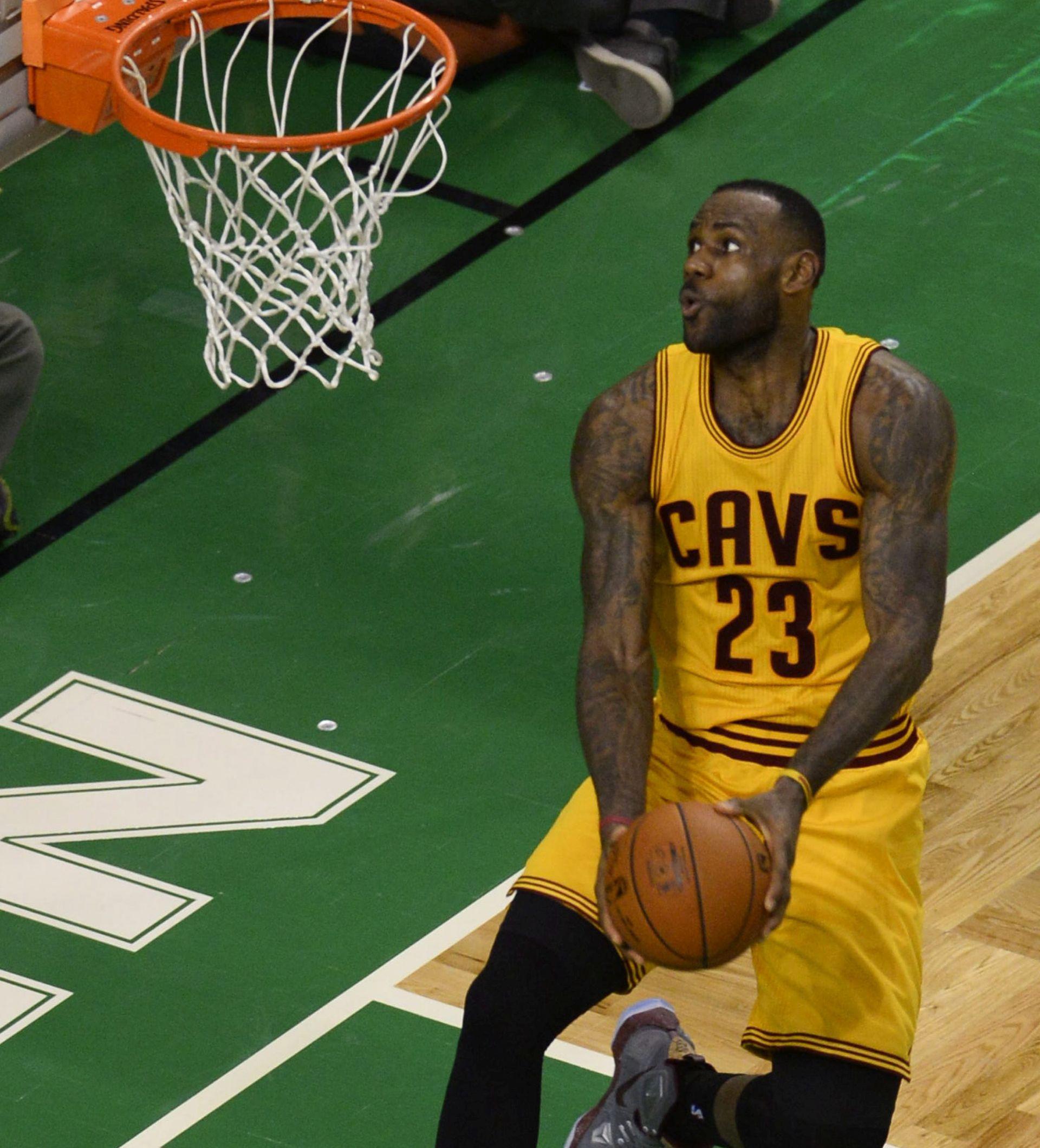 NBA: LeBron James i dalje najpopularniji