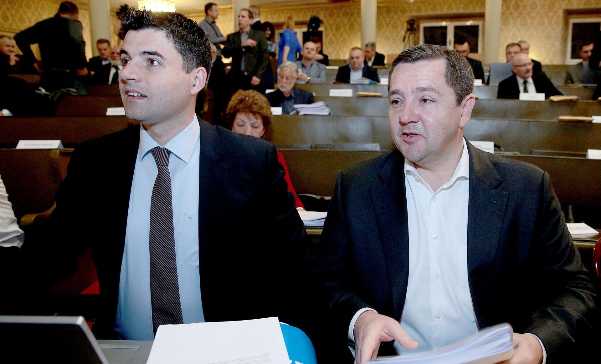 Bernardić smatra da je Bandić u koaliciji s HDZ-om, Mikulić to opovrgava
