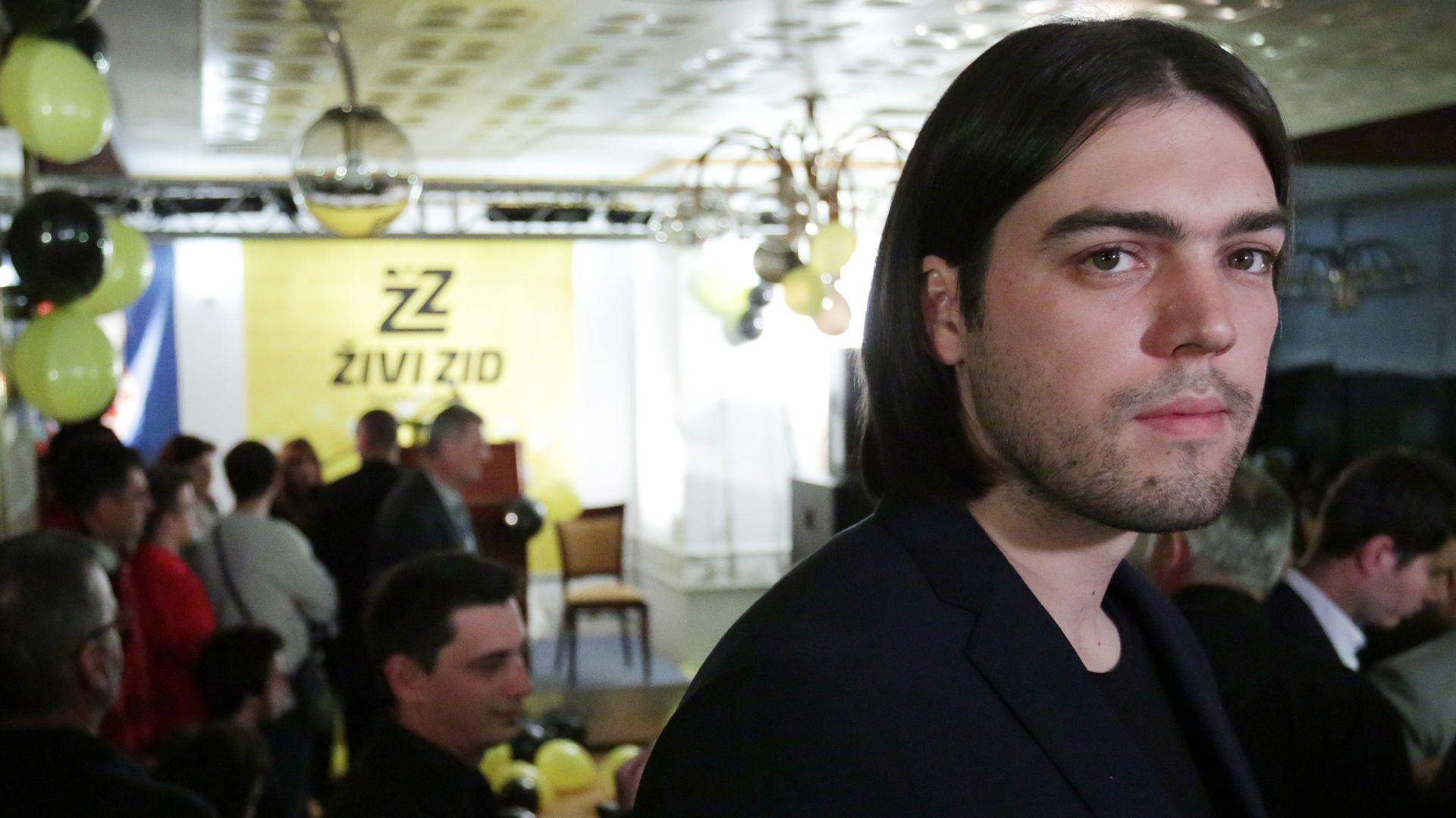 """PROBLEMI U ŽIVOM ZIDU Sinčić na Facebooku: """"Dio ljudi unutar stranke pokušao preuzeti upravljanje organizacijom"""""""