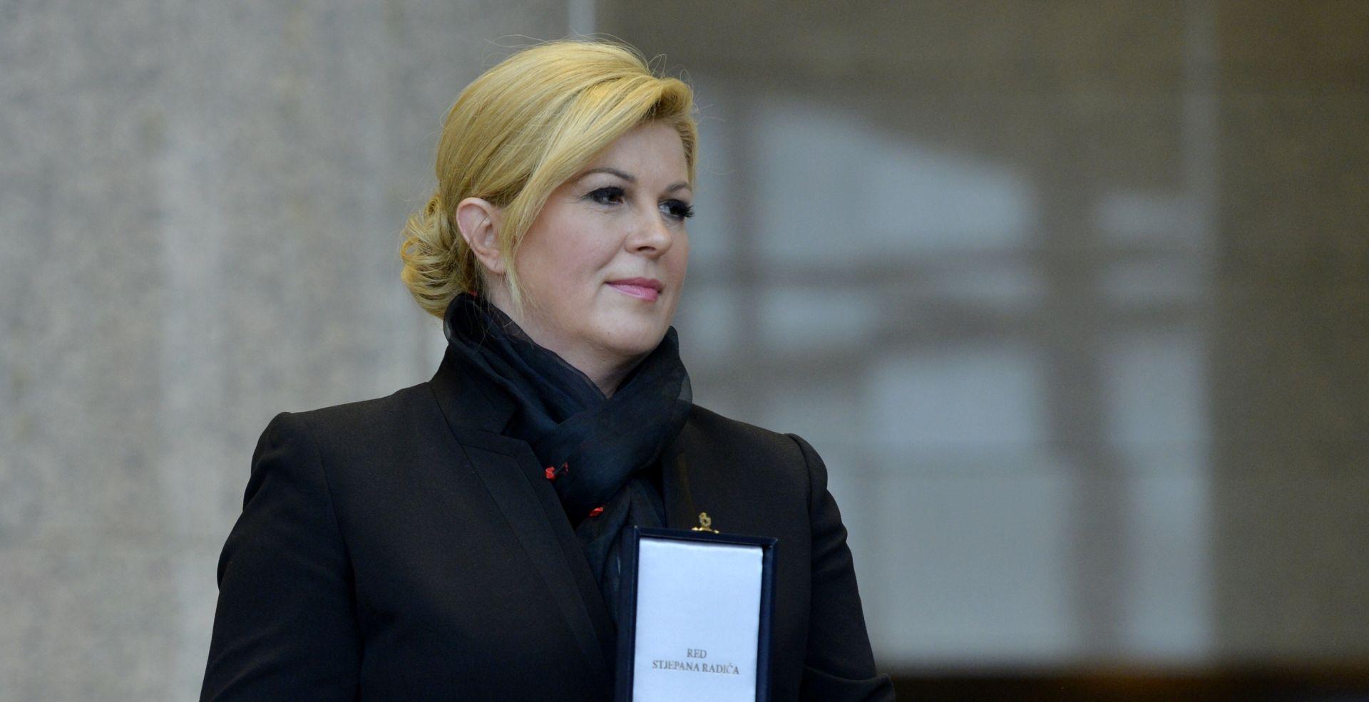 Grabar-Kitarović nastavlja treći krug konzultacija o mandataru Vlade