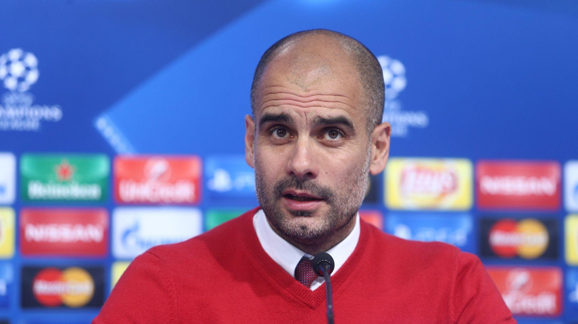 GUARDIOLA 'Posebno mi se sviđa stil Marka Pjace, Ribery će danas sigurno igrati'