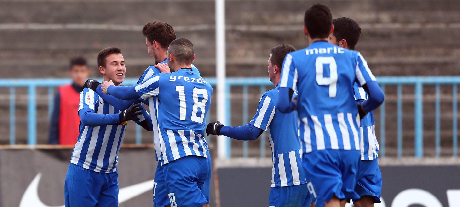 HNL Lokomotiva slavila protiv Istre, sudac pokazao dva crvena kartona