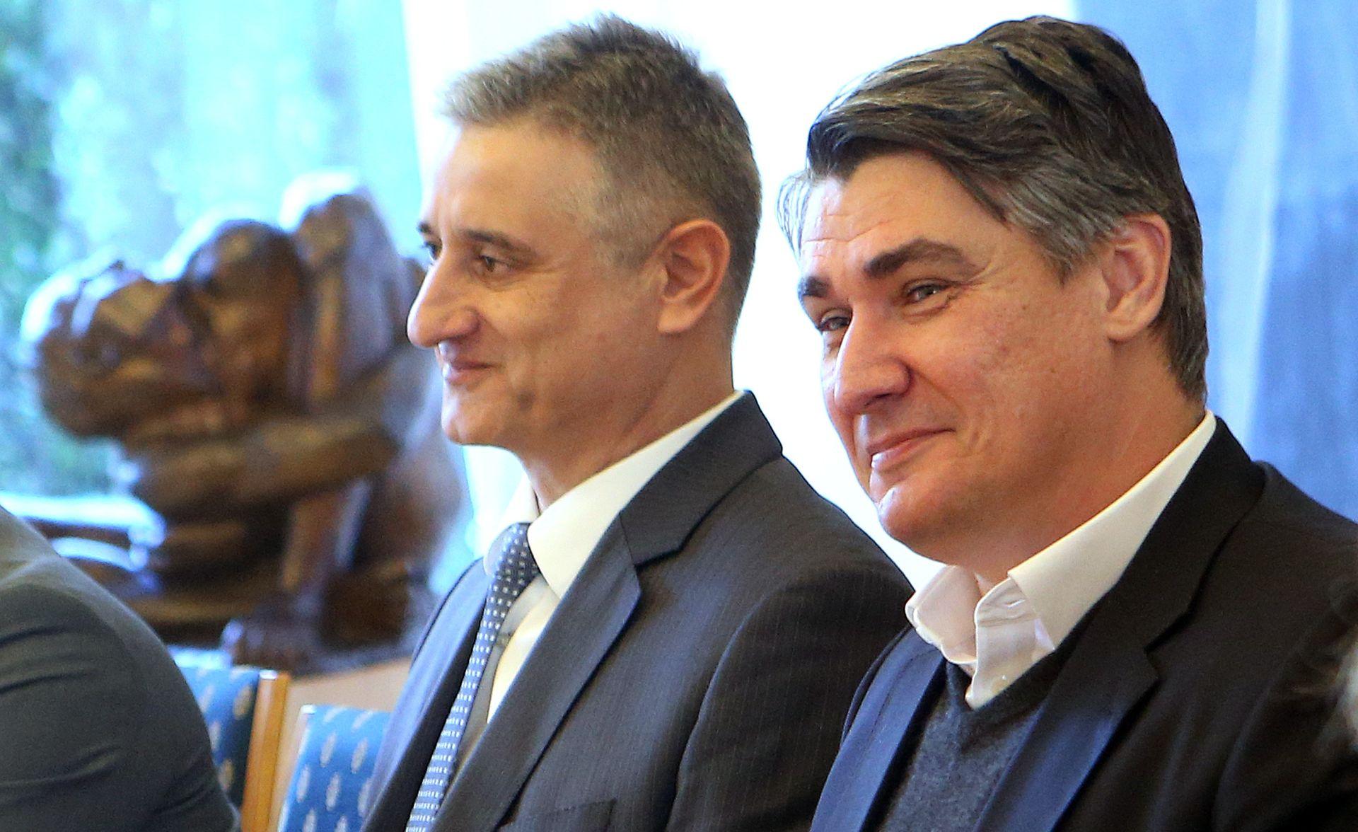 SASTANAK S PREDSJEDNICOM Milanović: Premijer može biti samo Karamarko ili ja – sve ostalo je prevara