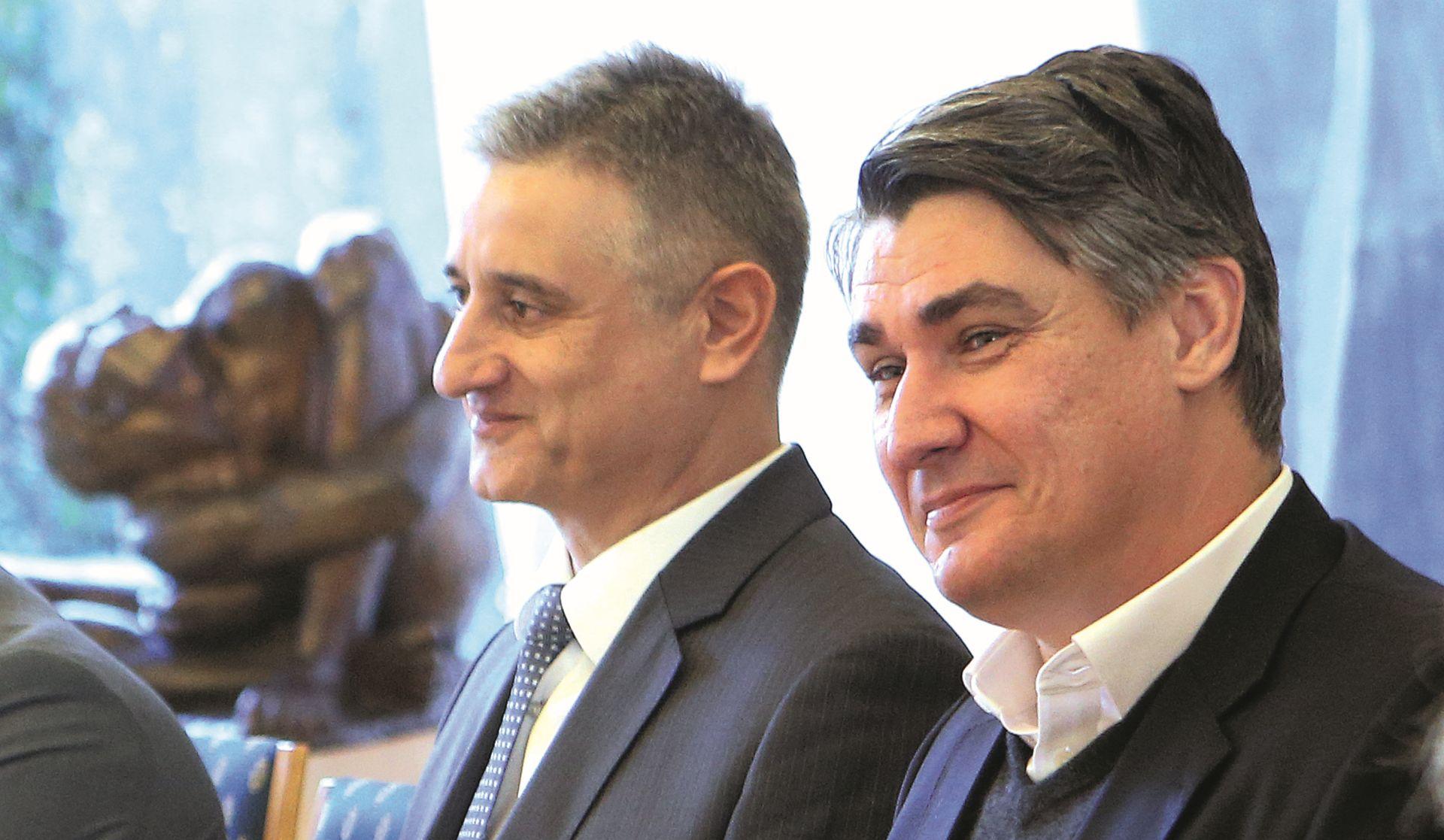 Na Pantovčaku se još nadaju koaliciji HDZ-SDP
