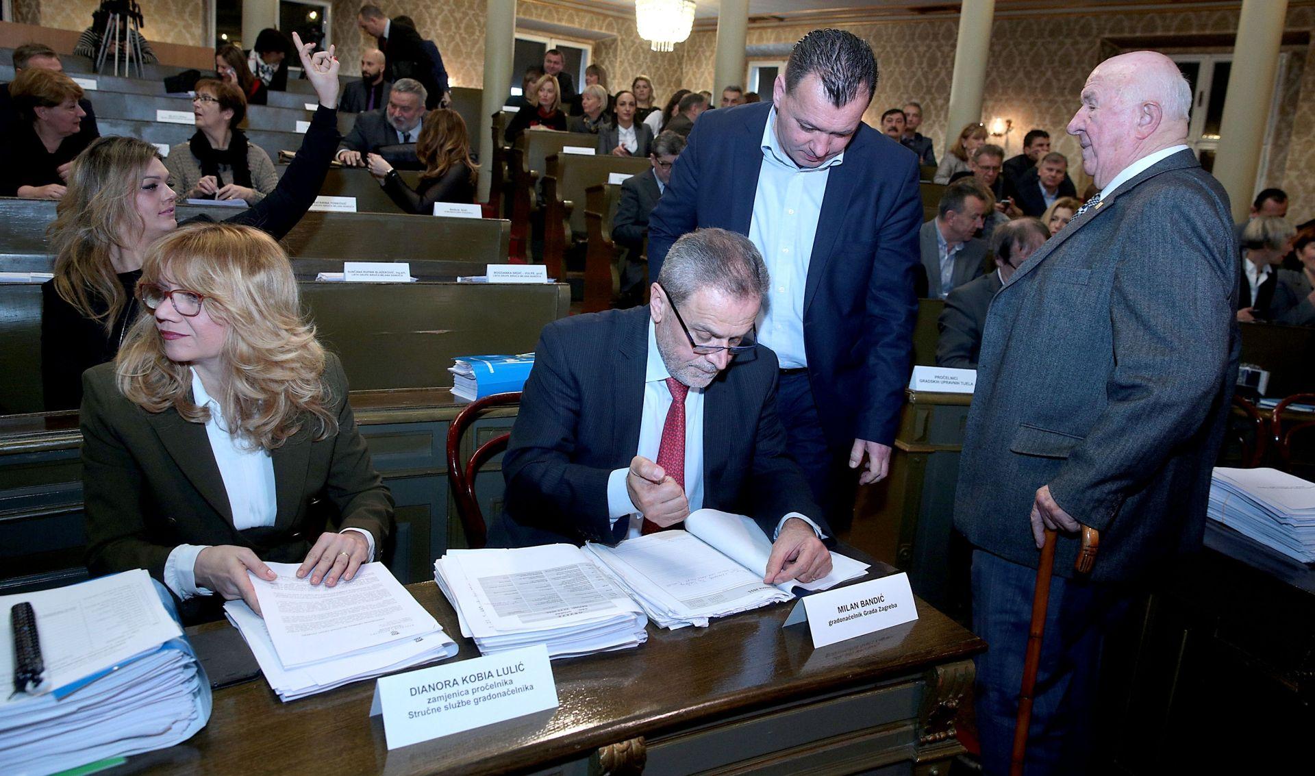 """Prihvaćen zagrebački proračun za 2016. """"težak"""" sedam milijardi kuna"""