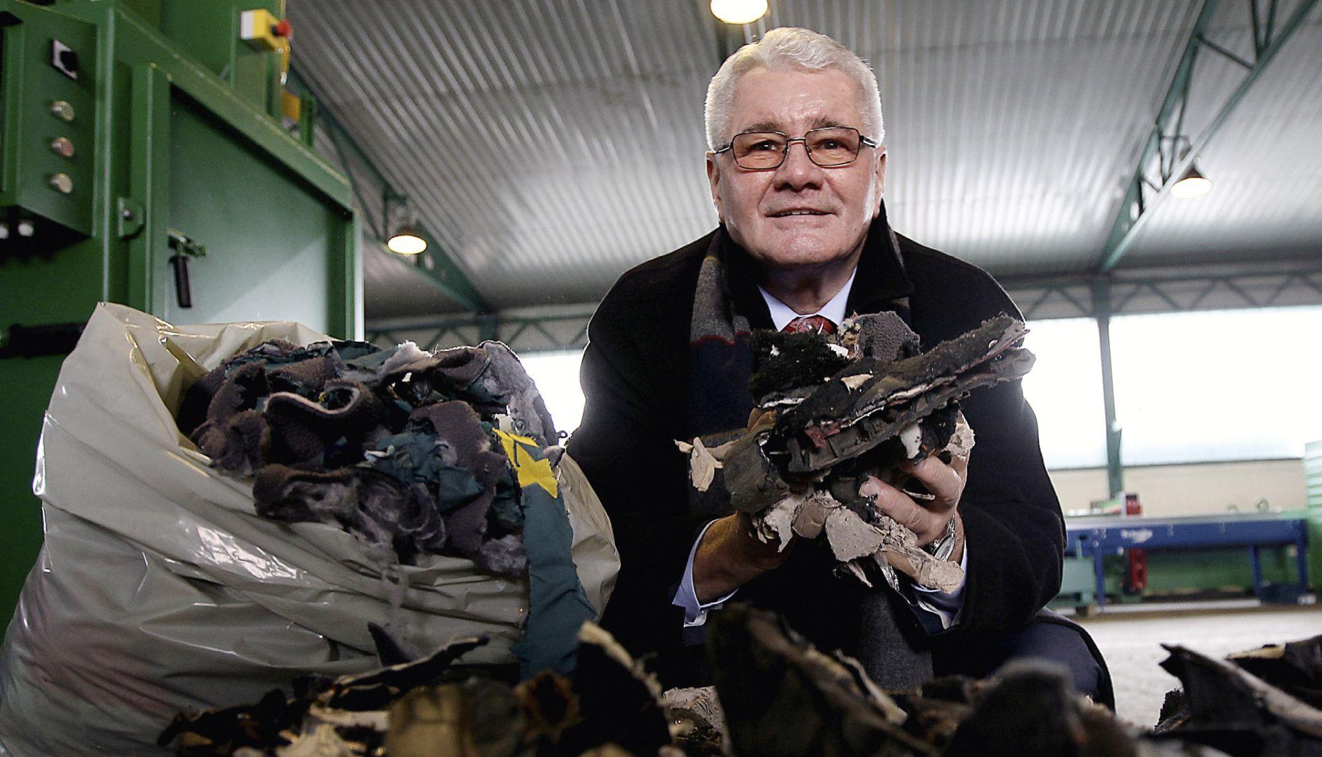 ĐURO HORVAT 'Svoj izum obrade otpada izvozim u svijet, a u Hrvatskoj me blokiraju'