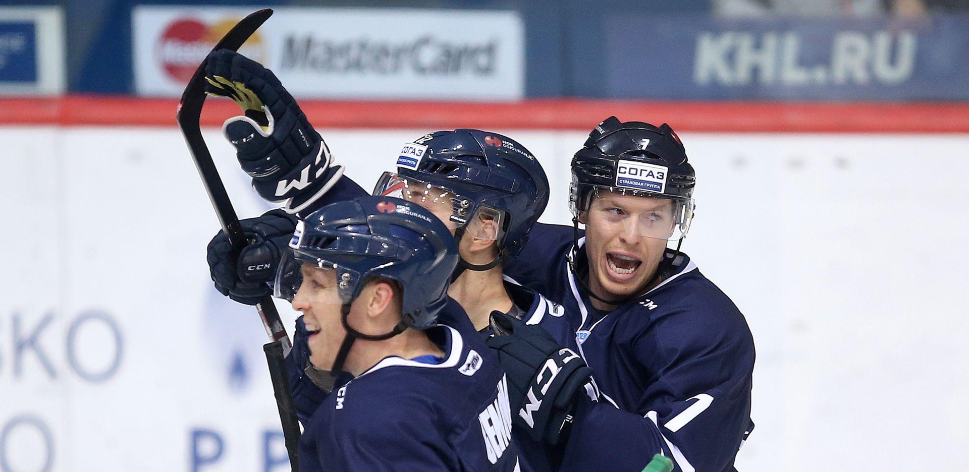 KHL: Medveščak uspješan u Nižnjekamsku
