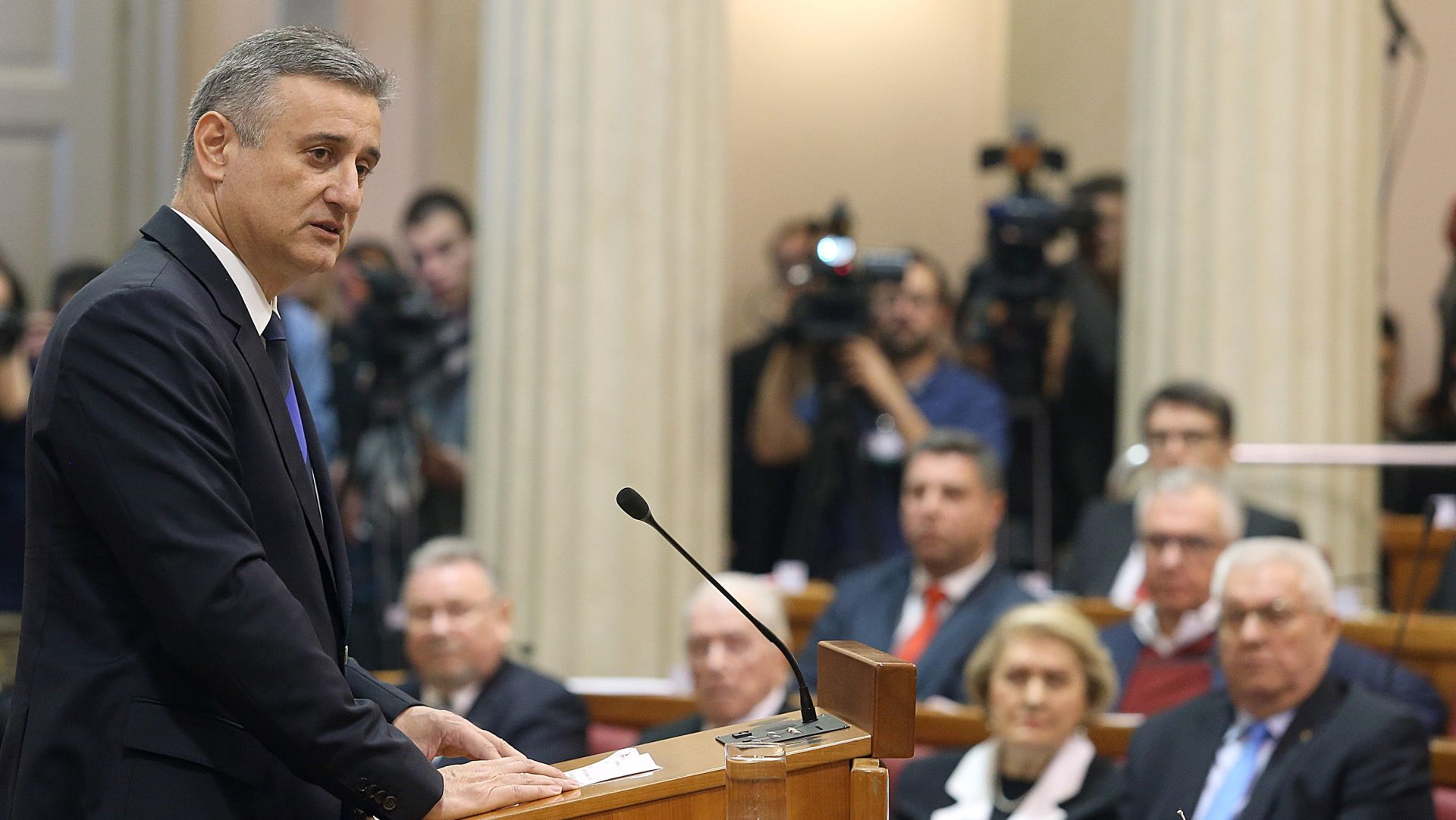 Karamarko: Bit ću prvi potpredsjednik vlade ili zamjenik premijera