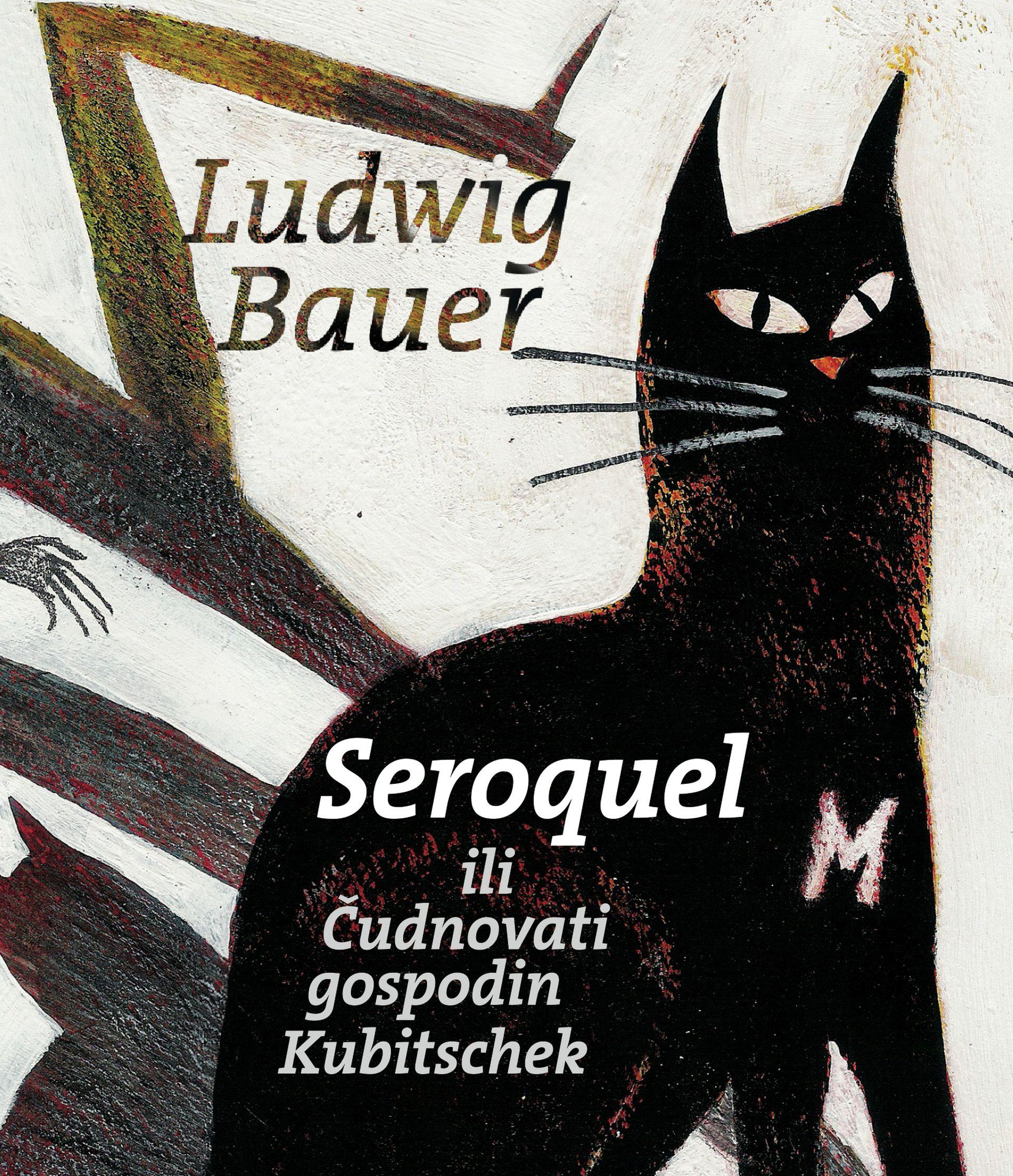 """NOVI ROMAN: Predstavljen """"Seroquel ili Čudnovati gospodin Kubitschek"""" Ludwiga Bauera"""