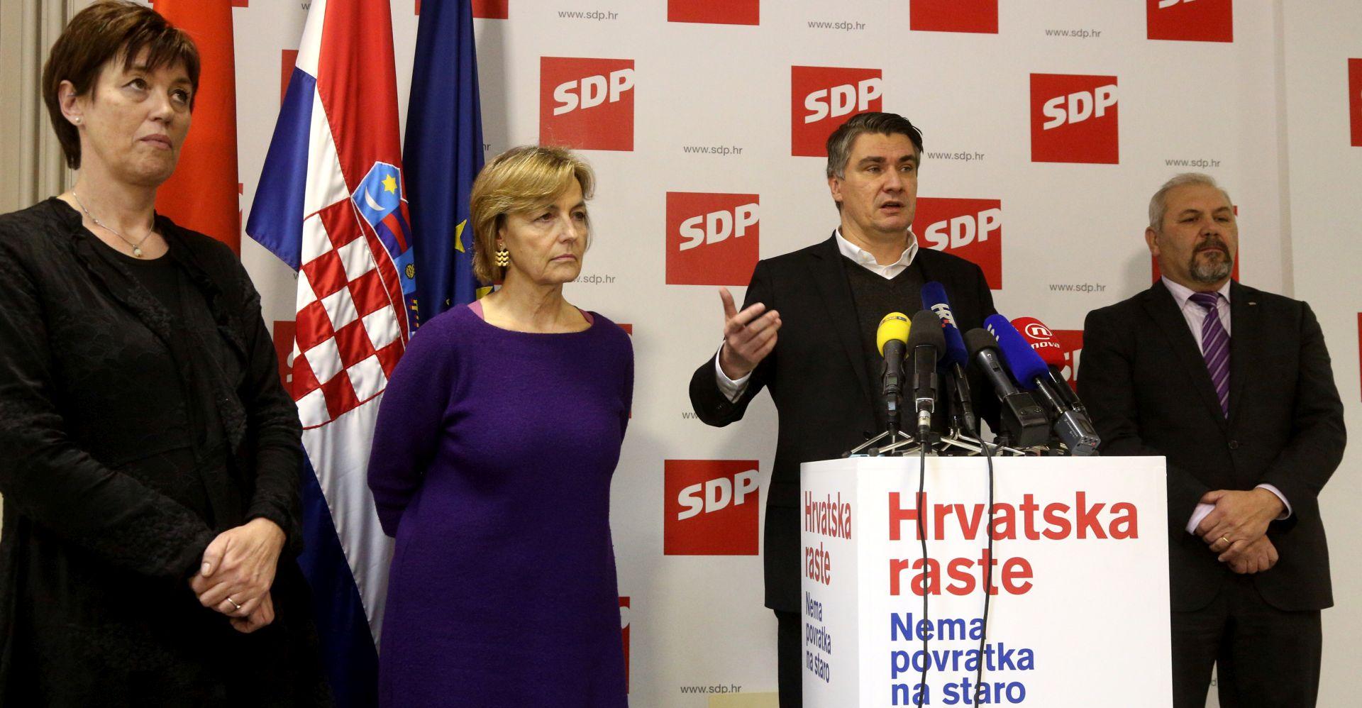 Predsjedništvo SDP-a raspravlja o raspisivanju izbora za predsjednika stranke