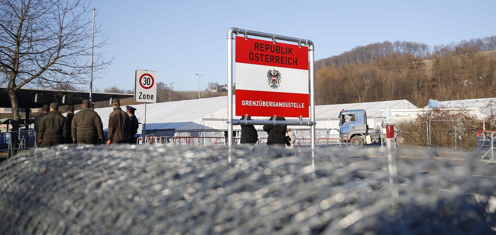 GRANIČNI PRIJELAZ SPIELFELD/ŠENTILJ: Slovenija se ne protivi ogradi koju podiže Austrija