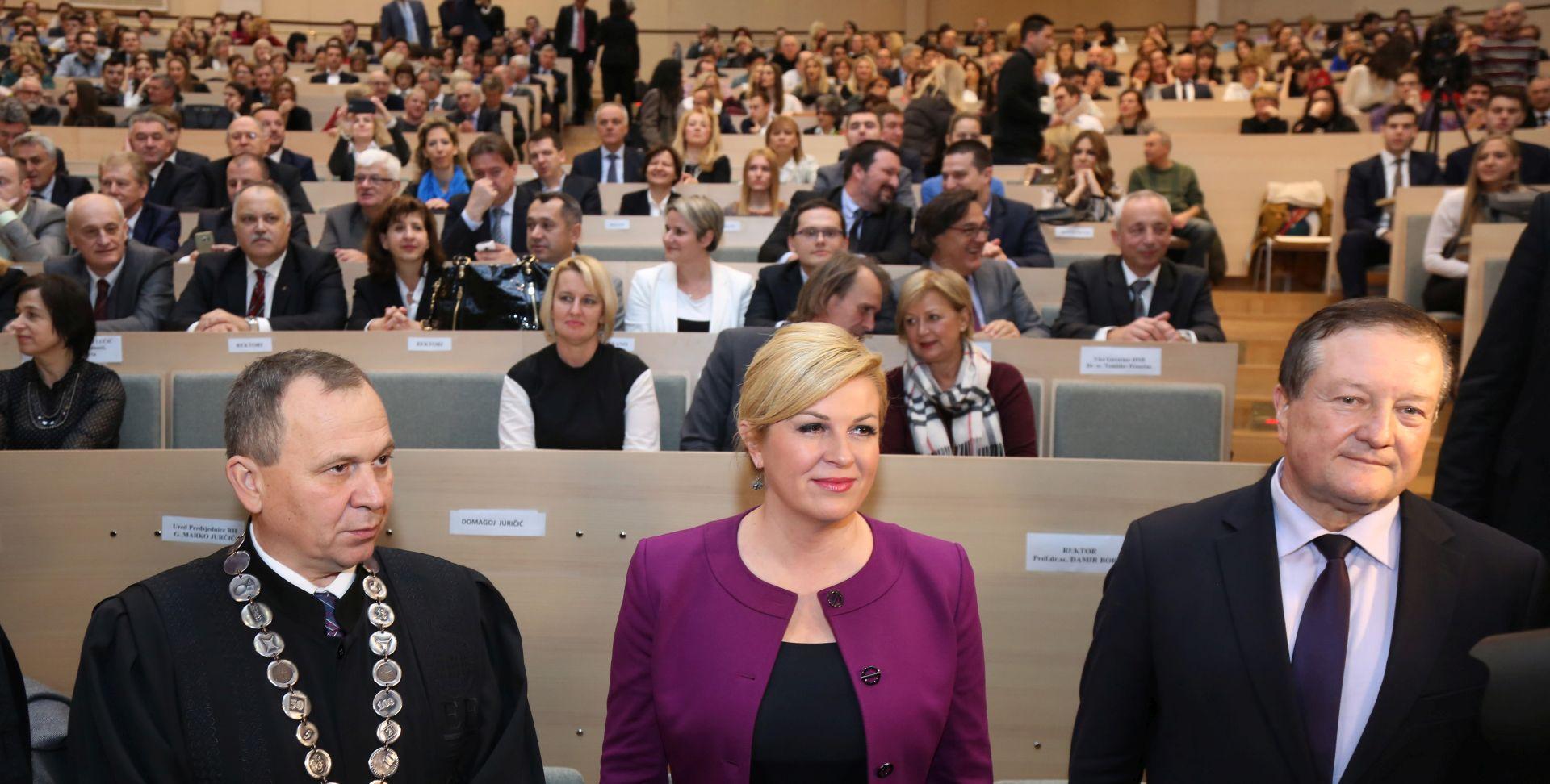"""FPZ Boras: """"Napisao sam preporuku svojoj studentici Kolindi Grabar-Kitarović"""""""