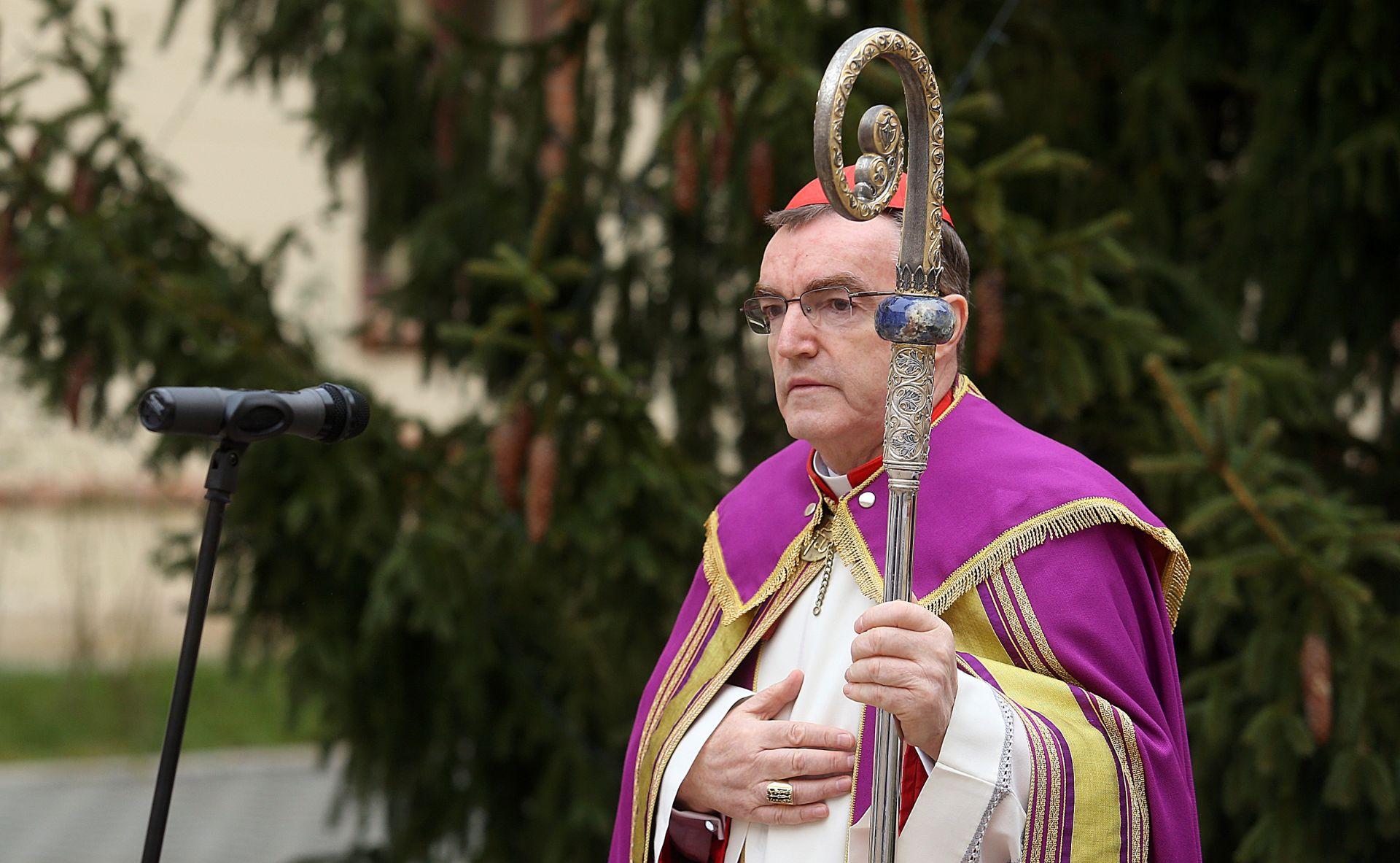 Kardinal Bozanić na konzistoriju u Rimu