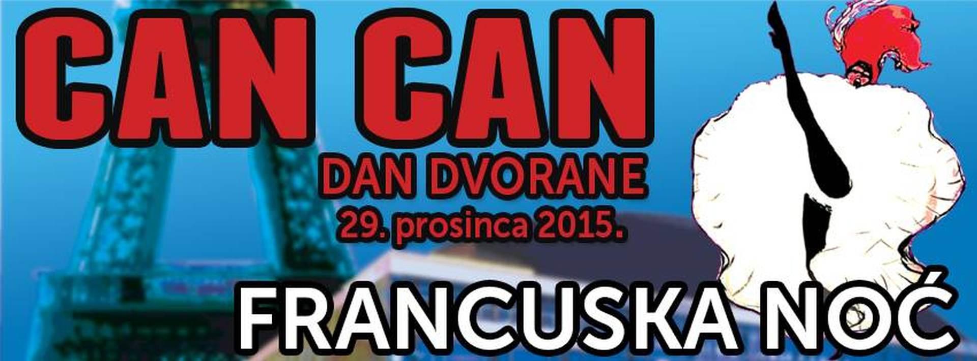 Ne propustite 42.rođendan Dvorane uz Can Can: Francuska noć u Lisinskom!