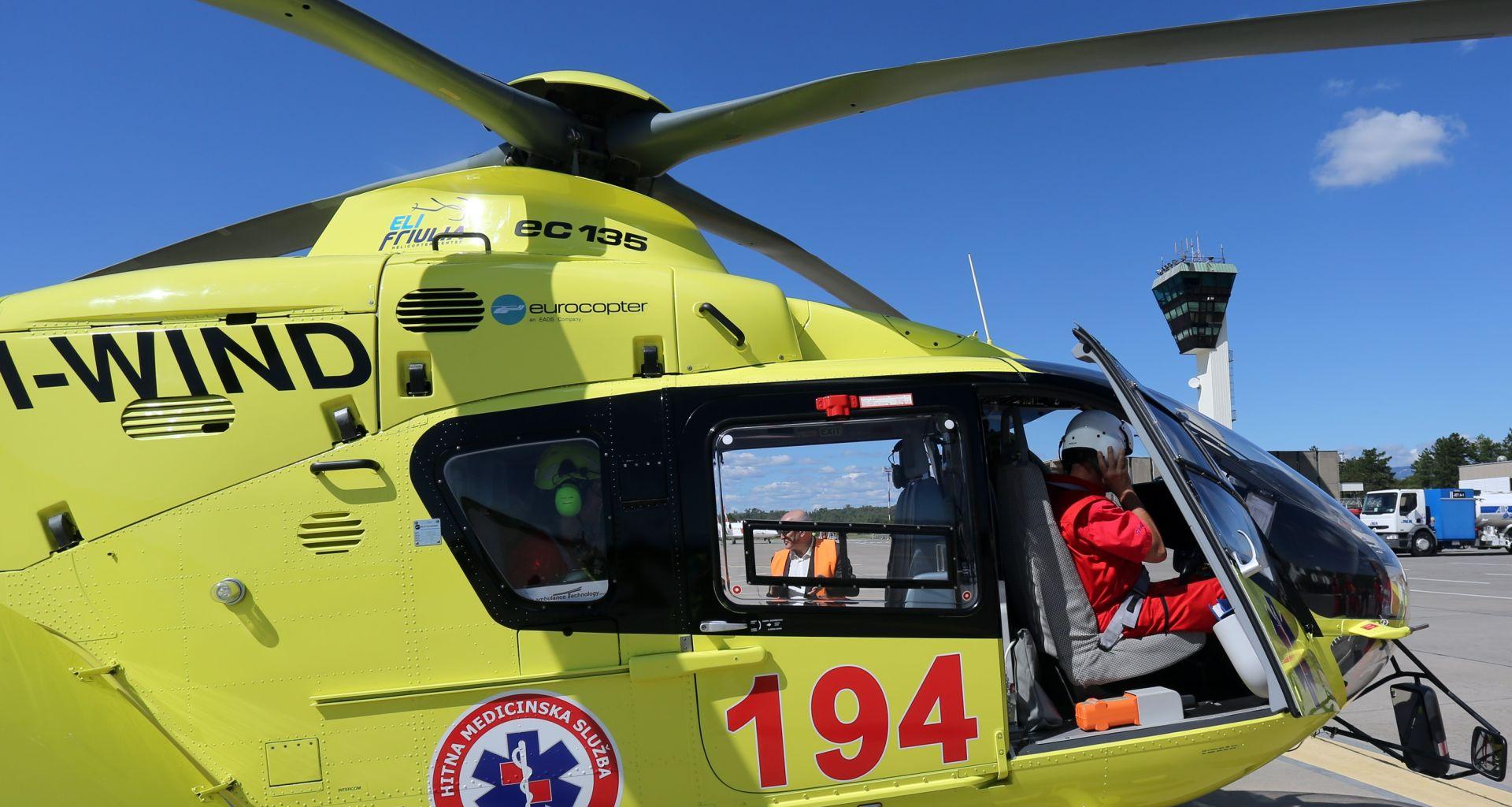 ZADOVOLJSTVO REZULTATIMA: Hitnih helikopterskih letova s riječke Zračne luke 79 u tri mjeseca