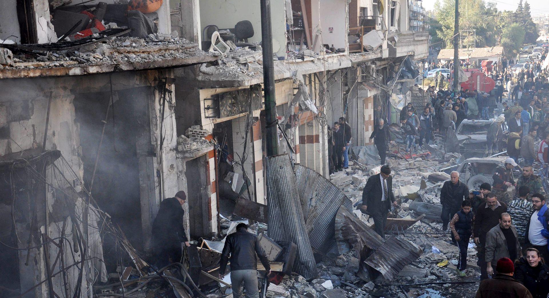 EKSPLOZIJE U HOMS-u: Poginulo 32, ranjeno 90 ljudi
