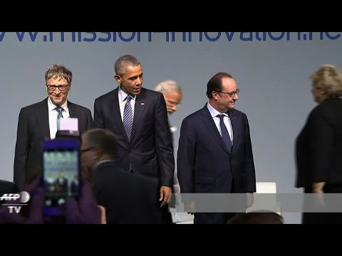 VIDEO: Barack Obama, Bill Gates, Francois Hollande i Narendra Modi govorili na forumu