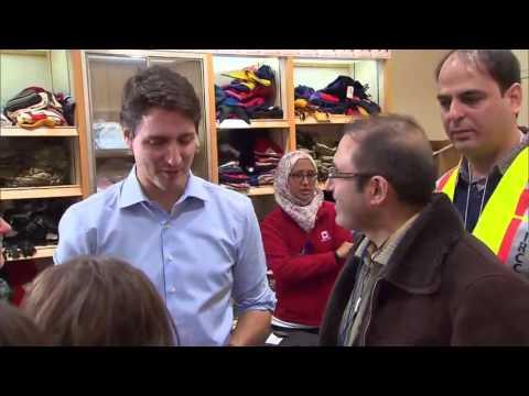 """VIDEO: PRVE IZBJEGLICE STIGLE U KANADU Dočekao ih premijer Trudeau: """"Dobrodošli kući"""""""