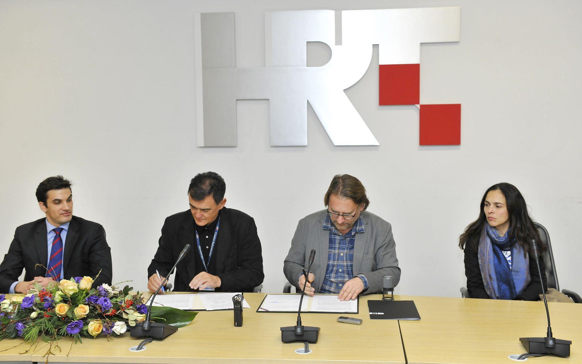 POTPISALI UGOVOR: HRT i HAVC- Uređenje međusobnih odnosa