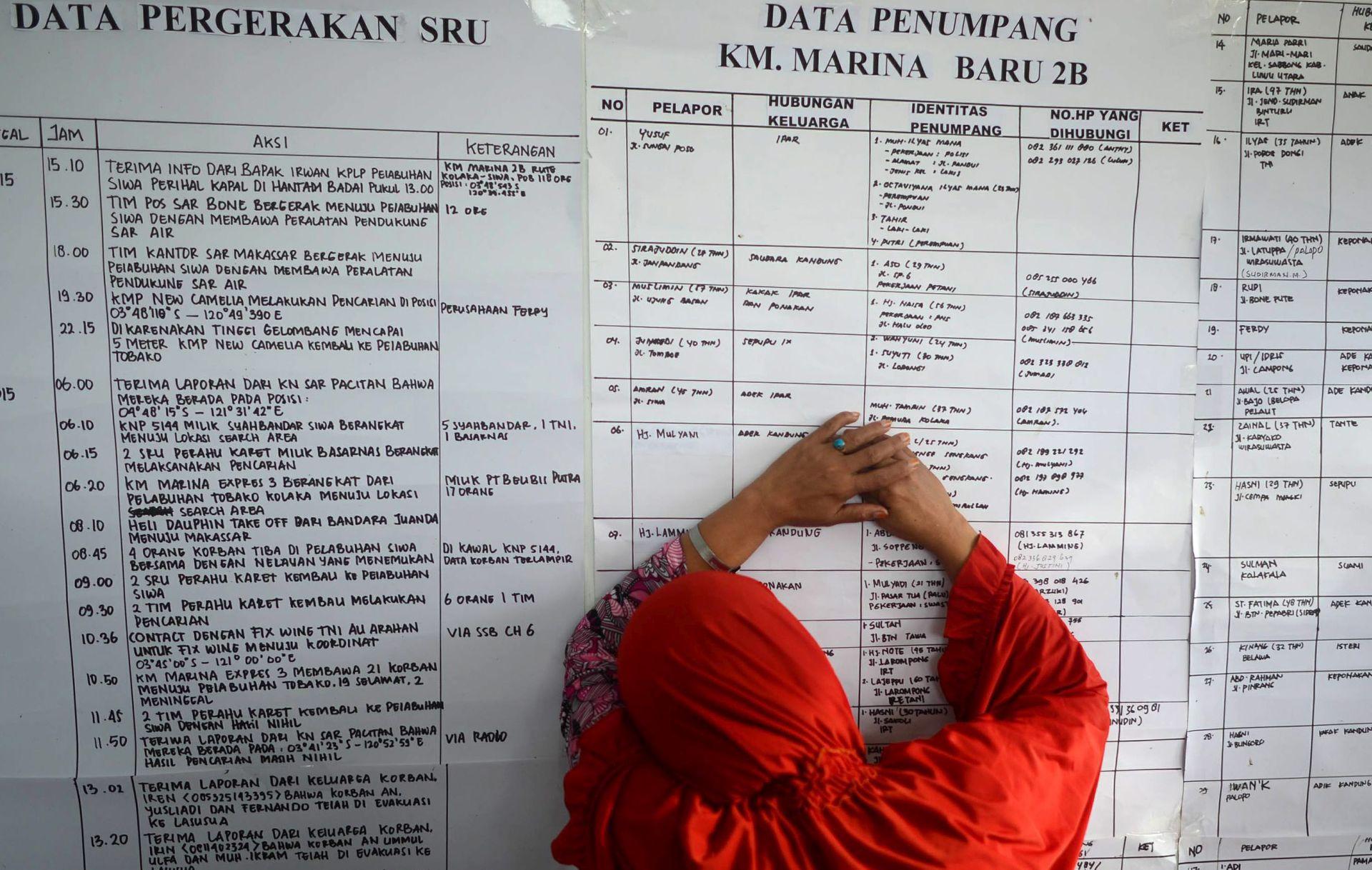 INDONEZIJA: Nastavlja se potraga na moru za desetcima brodolomaca