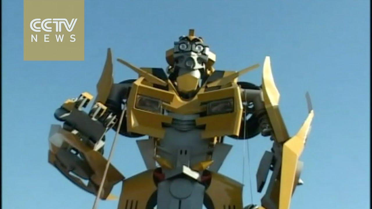 VIDEO: Dvoje vještih Kineza izradili kopiju Transformersa