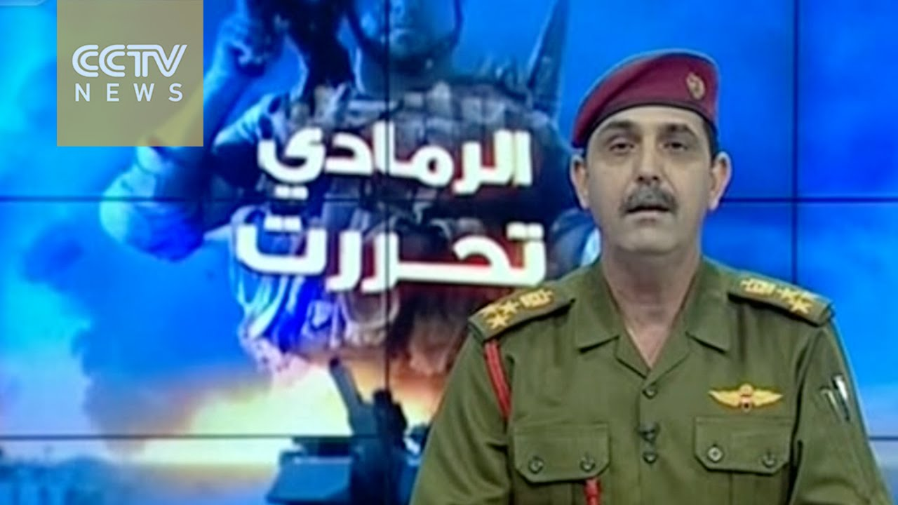 VIDEO: Na zgradi državne uprave u Ramadiju podignuta iračka zastava