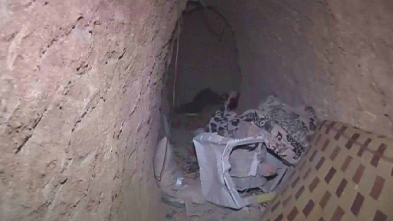 VIDEO: Podzemni tuneli u Iraku koje su koristili teroristi