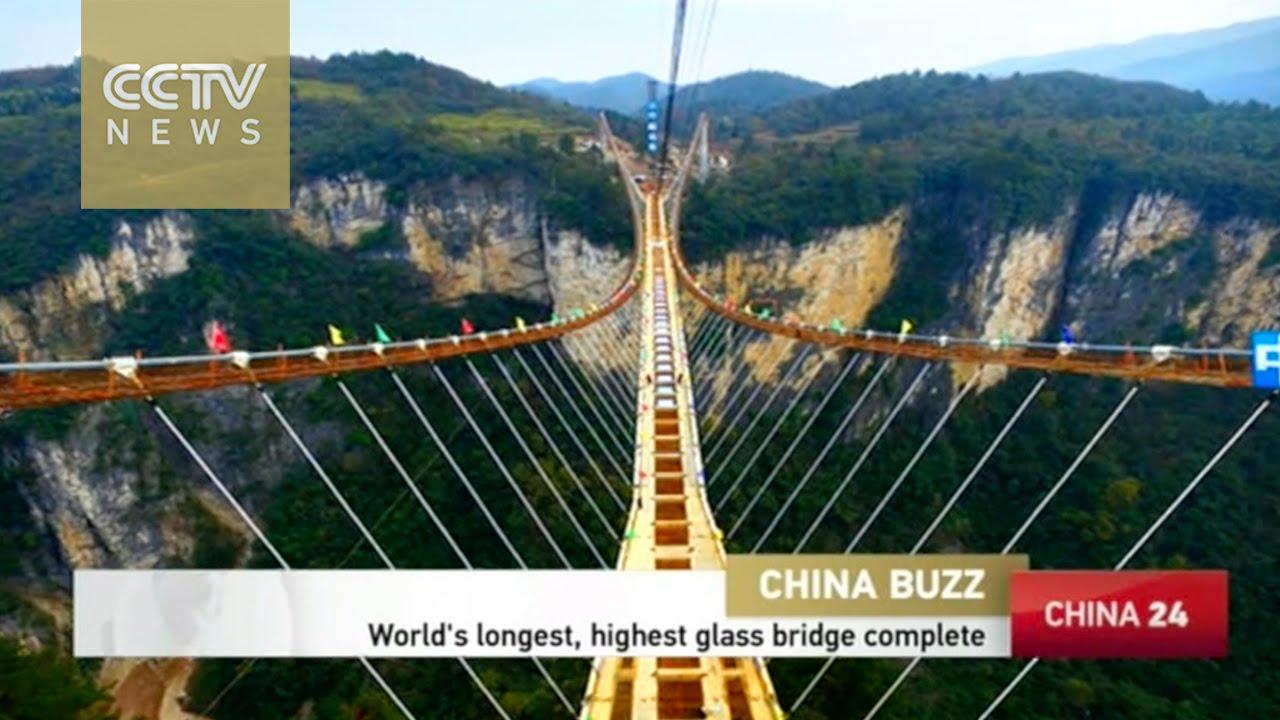 VIDEO: Radovi na staklenom mostu Zhangjiajie skoro gotovi