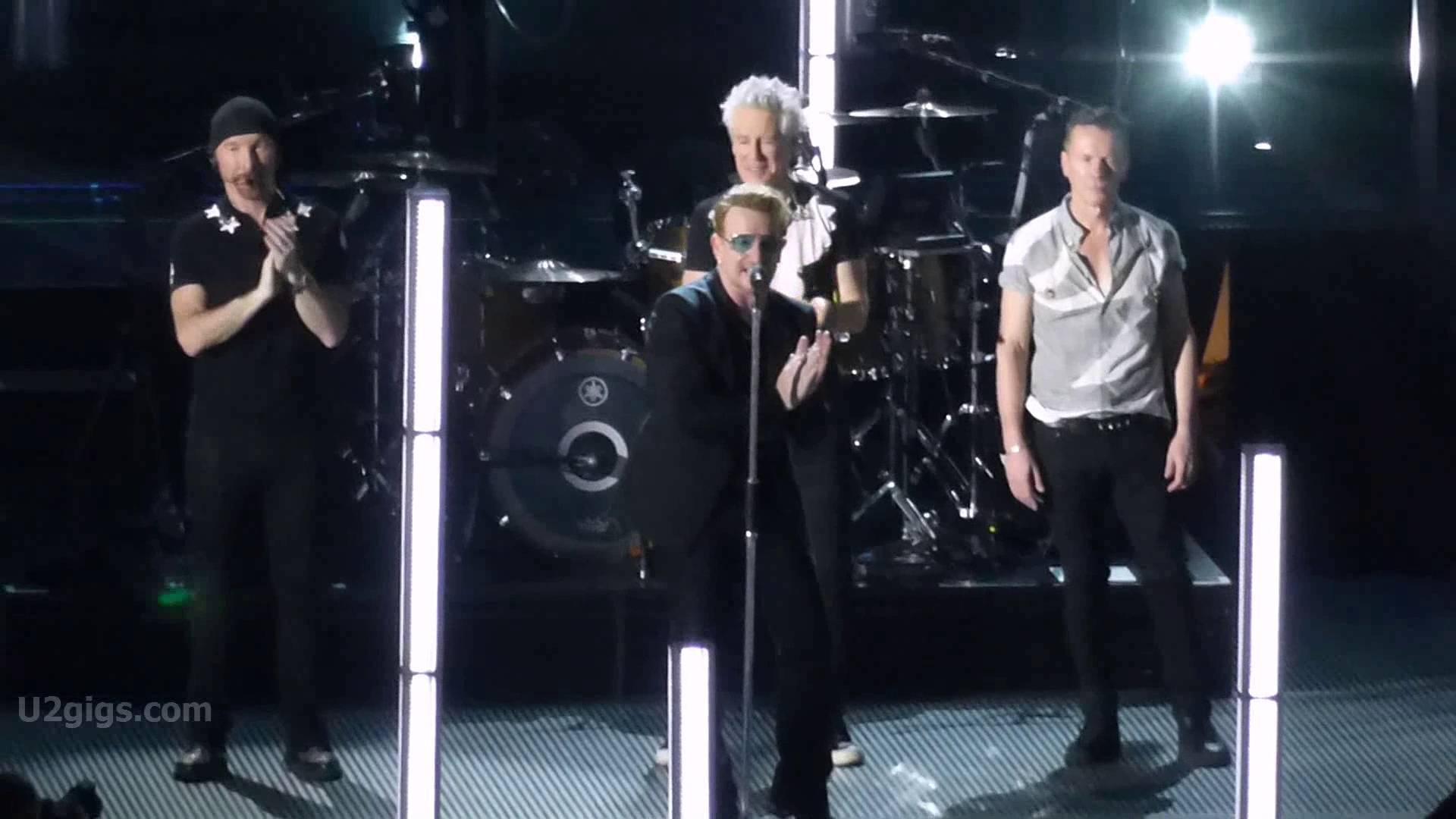VIDEO: U2 se vratio u Pariz, zasad bez Eagles of Death Metal