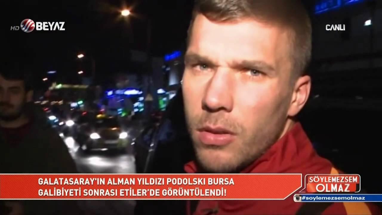 VIDEO: POLDIJU PREKIPJELO Lukas Podolski napao fotografa u Istanbulu