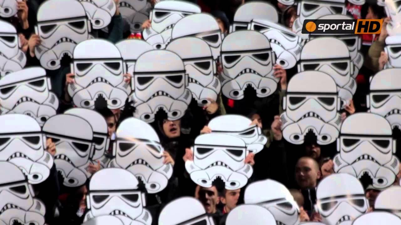 VIDEO: SPEKTAKL! Darth Vader i Stormtrooperi oduševili nogometni svijet, a sve u režiji navijača sofijskog CSKA