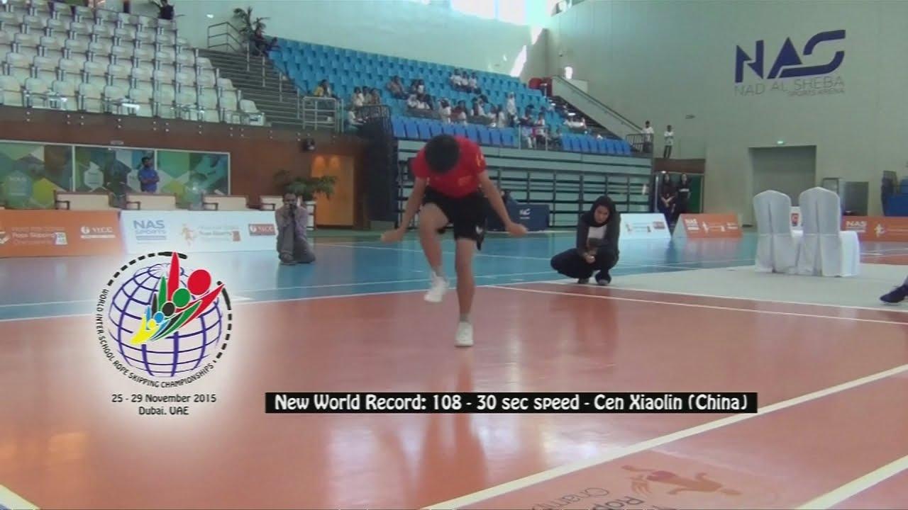 VIDEO: Mladi Kinez oborio dva svjetska rekorda u preskakivanju užeta