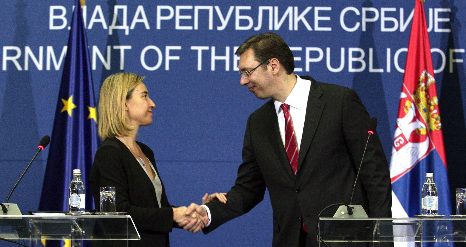 PRISTUPNI PREGOVORI Mogherini: Srbija otvara prva poglavlja u pregovorima s EU