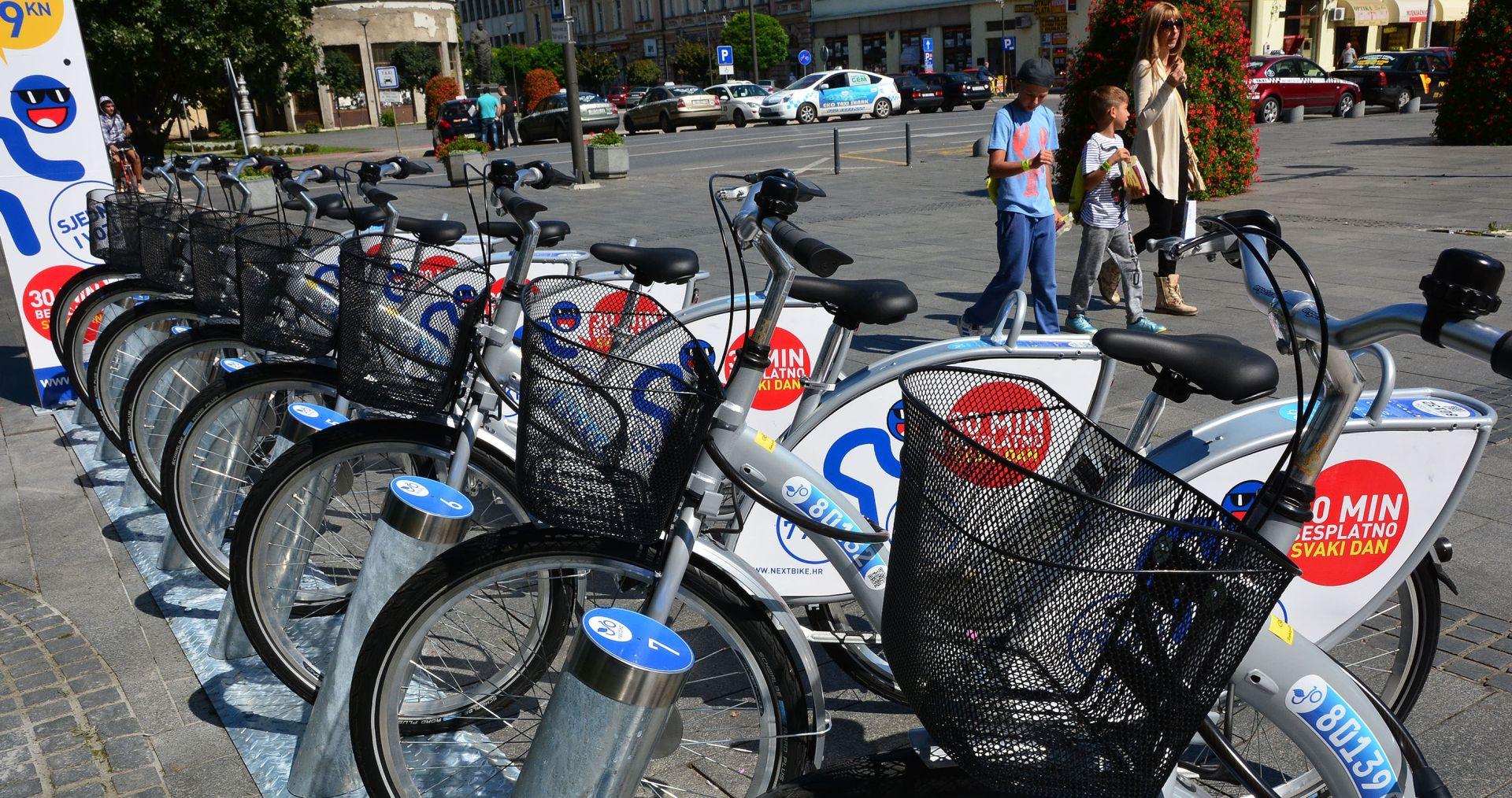 """GODIŠNJI SERVIS: """"Nextbike sustav"""" javnih bicikala odlazi na zimsku pauzu"""
