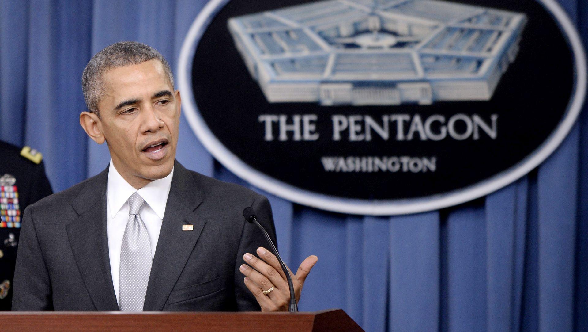 """IZ PENTAGONA Obama: """"SAD napada Islamsku državu jače nego ikad"""""""