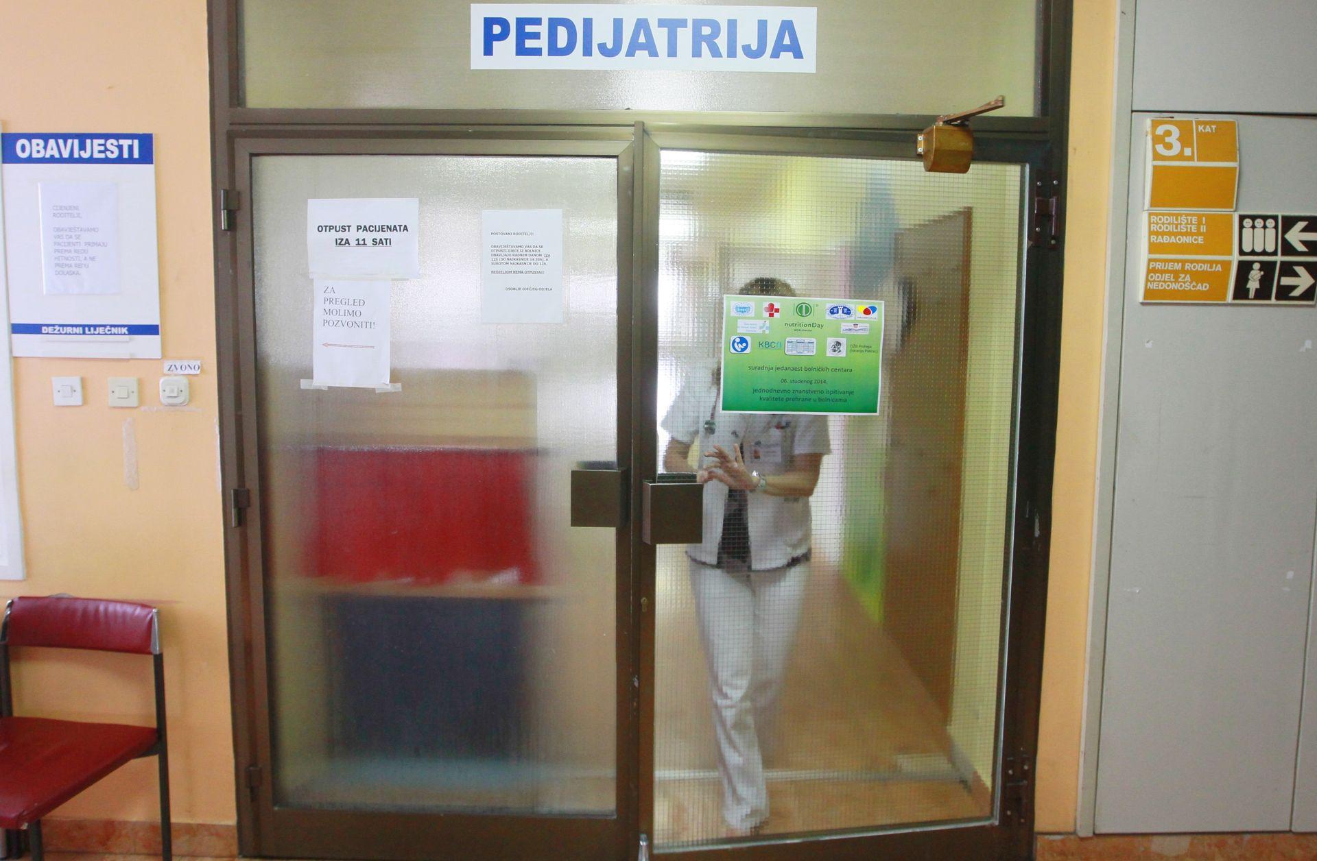 Alarmantno stanje zbog manjka pedijatara