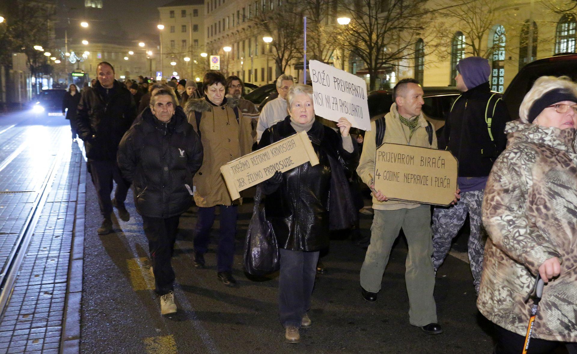 RAZIŠLI SE: Završen prosvjed pred domom predsjednice