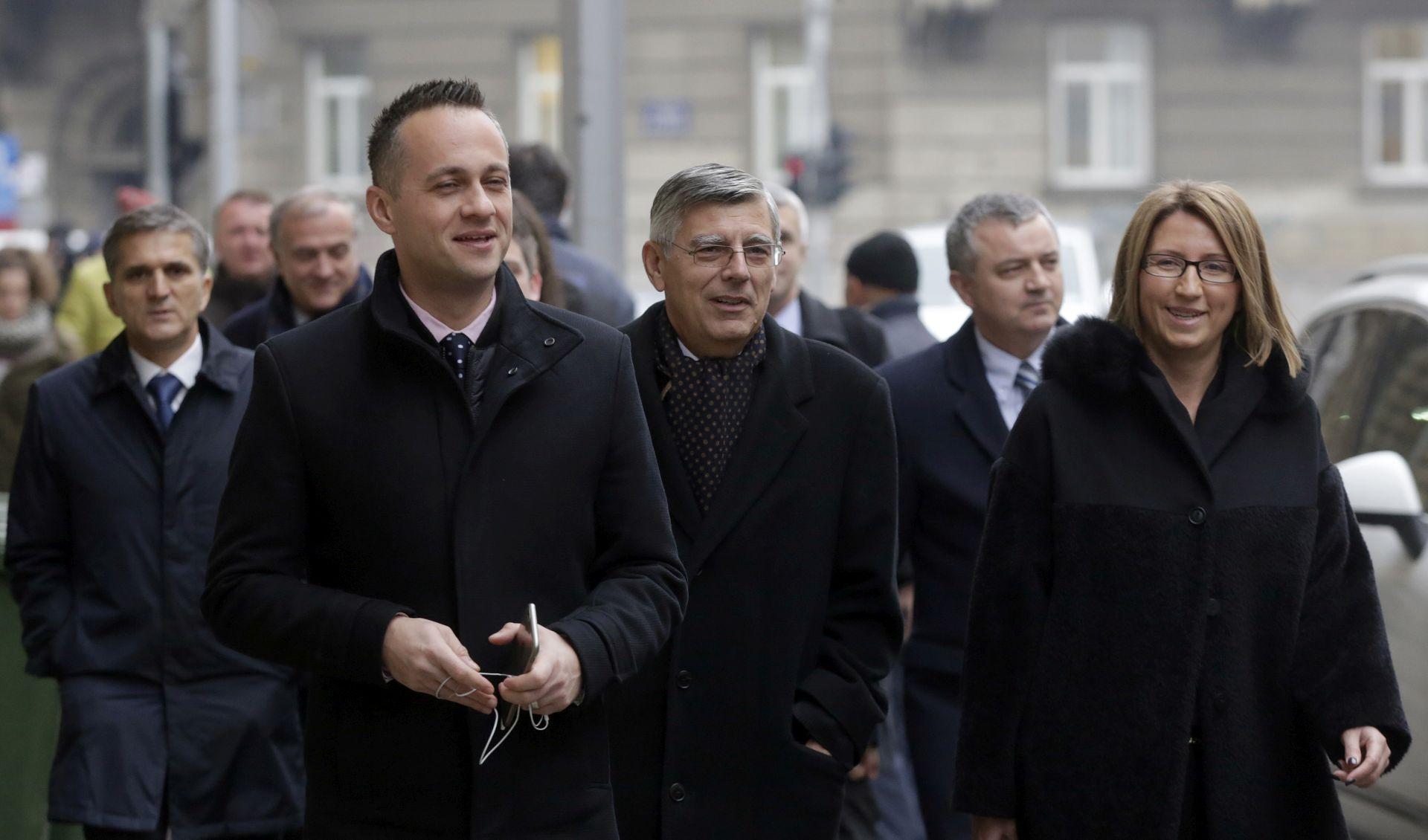 PREGOVORI O REFORMAMA: U tijeku sastanak MOST-a, HDZ-a i SDP-a: