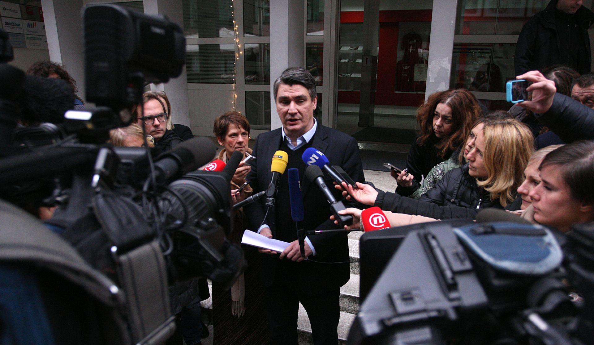 SJEDNICA GLAVNOG ODBORA: SDP ne prihvaća prijedlog velike koalicije