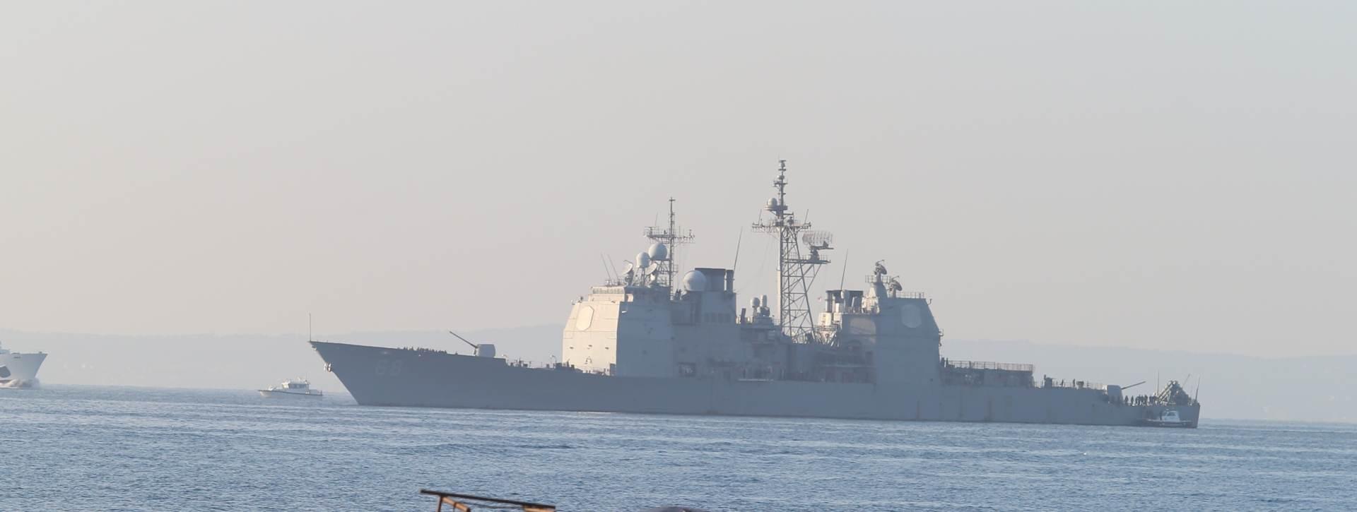 Američki nosač zrakoplova USS Harry S. Truman stigao u Split