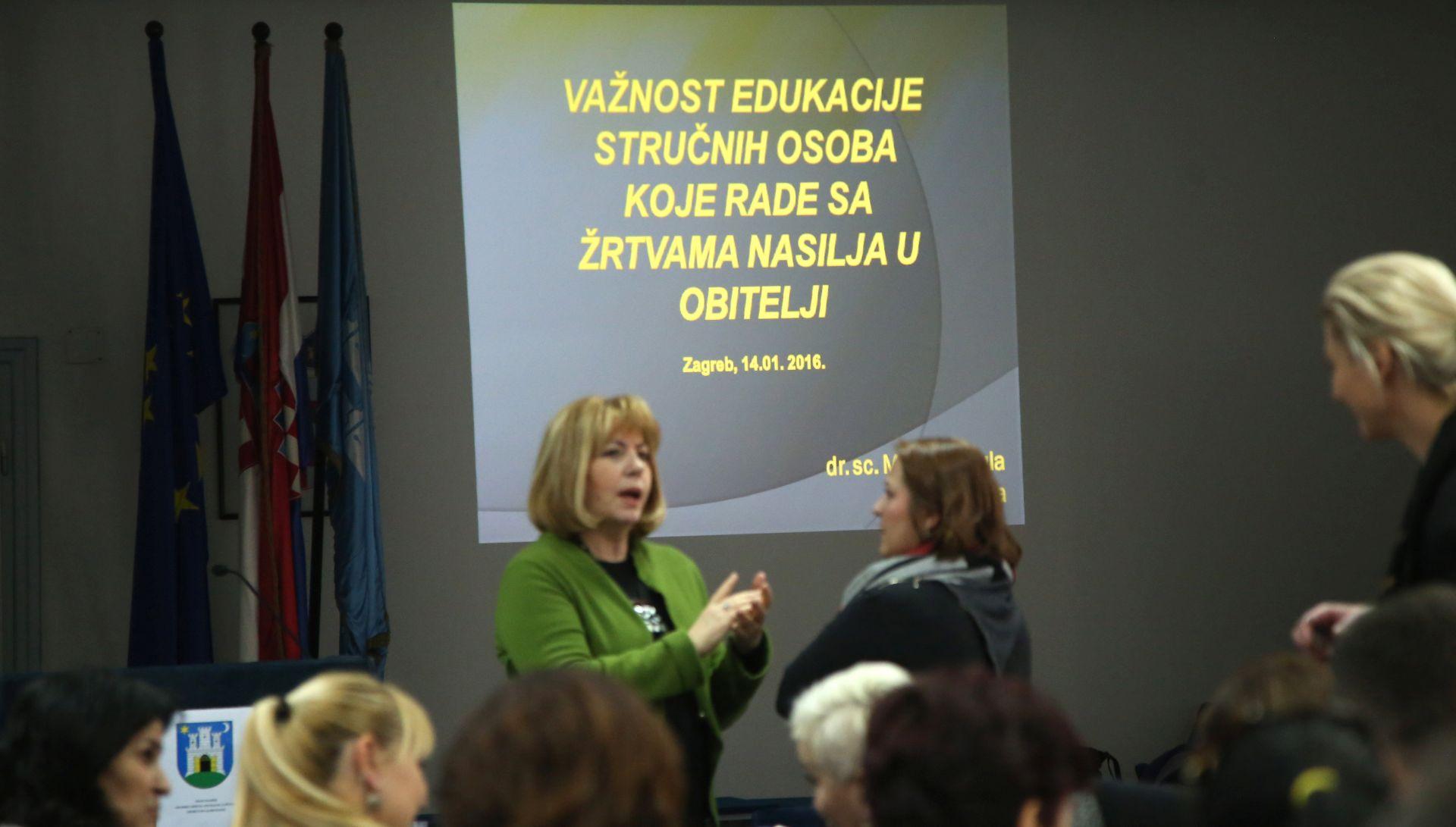 ODLIČNI REZULTATI: Projekt edukacije stručnih osoba koje pomažu žrtvama nasilja