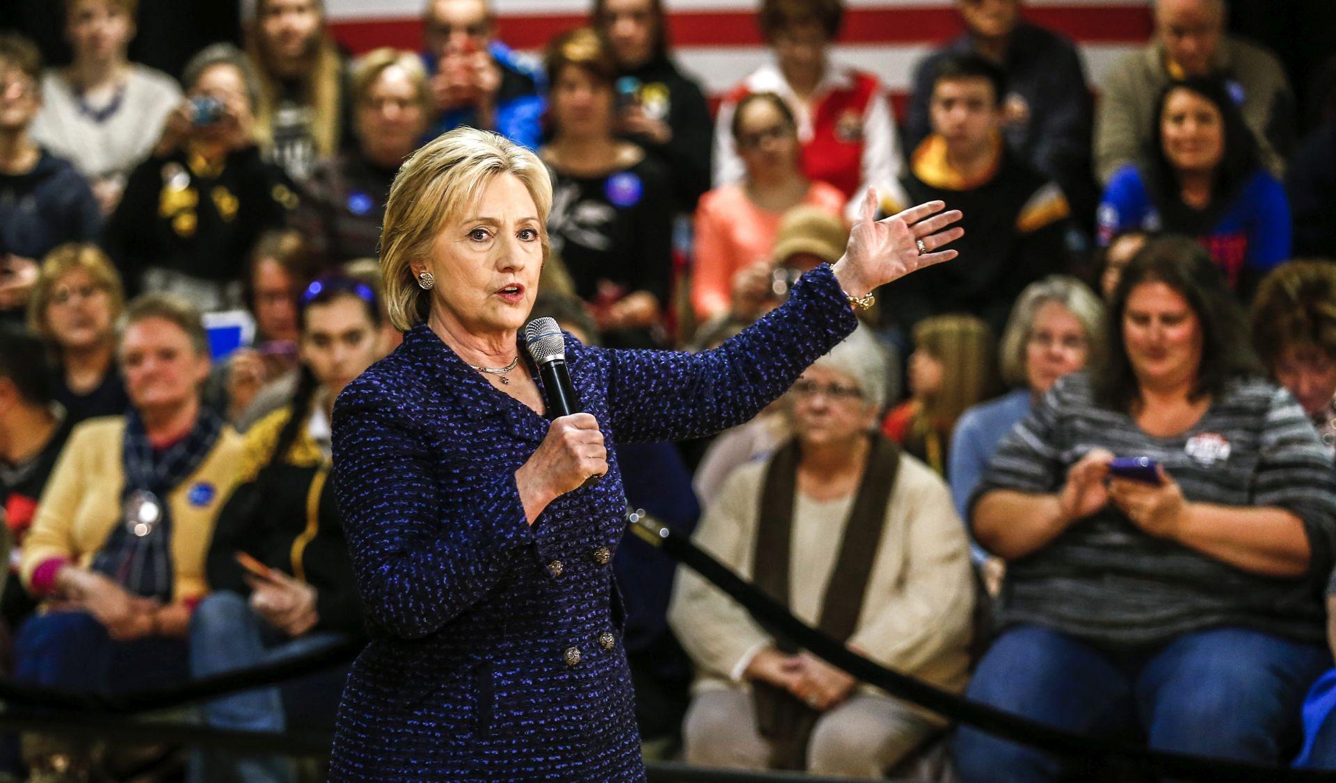 PREDSJEDNIČKA UTRKA: Obama pohvalio bogato iskustvo Clinton