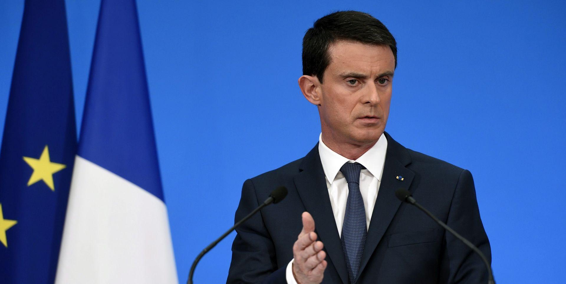 Valls želi izbjeći Brexit, ali ne pod svaku cijenu